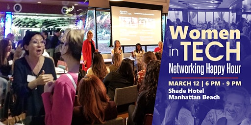 Women in Tech Networking Happy Hour with Special Guest Upfront Ventures