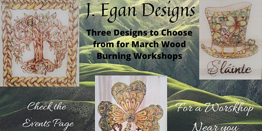 Wood Burning Workshop - Wearing O' The Green