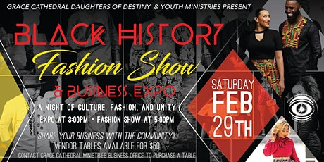 Black History Month Fashion Show and Vendor Event tickets
