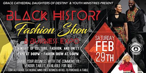 Black History Month Fashion Show and Vendor Event