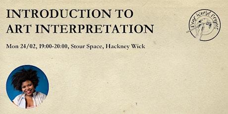 Introduction to Art Interpretation tickets