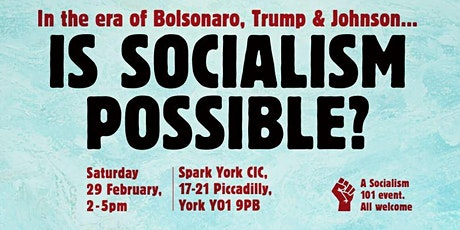 Socialism 101 York: Is socialism possible? tickets