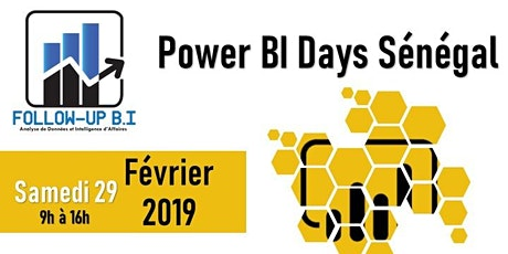 Power BI Days Sénégal Février 2020 billets