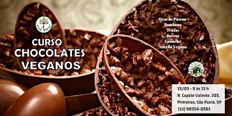Curso: Chocolates Veganos ingressos
