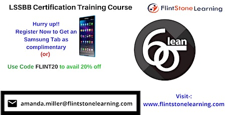 LSSBB Certification Training Course in Industry, CA tickets