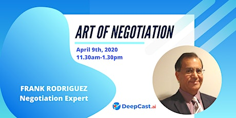 Art of Negotiation tickets