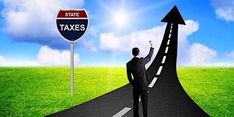 Impuestos estatales y locales para negocios y trabajadores por cuenta propia tickets