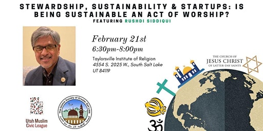 Faith, Sustainability & Stewardshop