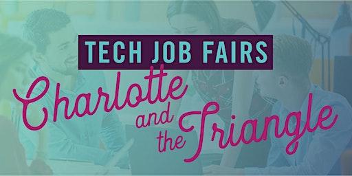 NC TECH Job Fair in the Triangle (October 2020)