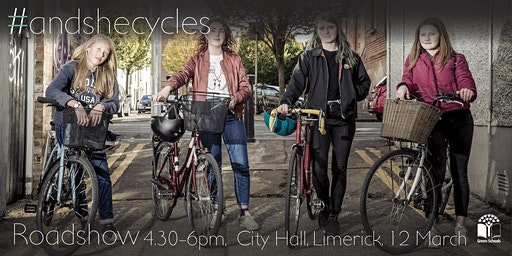 #andshecycles Roadshow Limerick