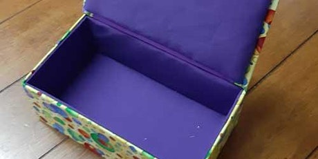 Hand sewn boxes tickets