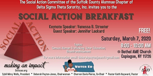 Social Action Committee of DSTSCAC: Social Action Breakfast