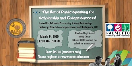 The Art of Public Speaking for Scholarship Success tickets