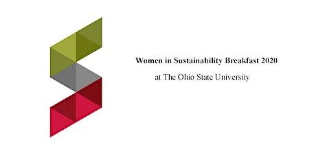 Women in Sustainability Breakfast tickets
