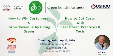 Green Builds Business (GBB) Program tickets