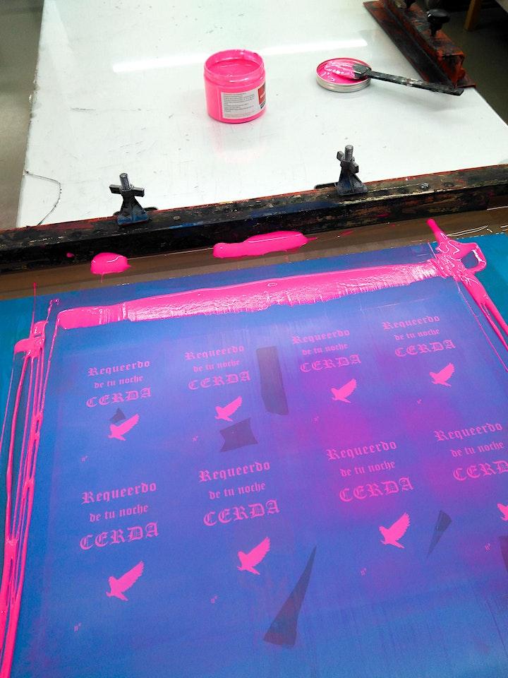 Screenprinting (Siebdruck) Workshop for Beginners  23.10 image