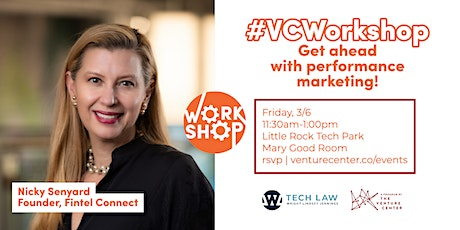 #VCWorkshop | How to Win With Performance Marketing tickets