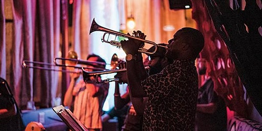 Lucky 7 Brass Band Live Recording at Crosstown Arts