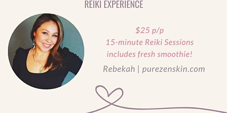 Raise Your Vibration A Reiki Experience  tickets