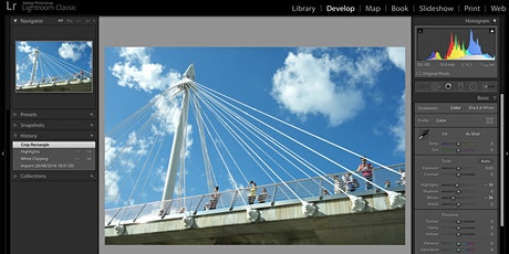 Lightroom - getting started in the Develop module  tickets