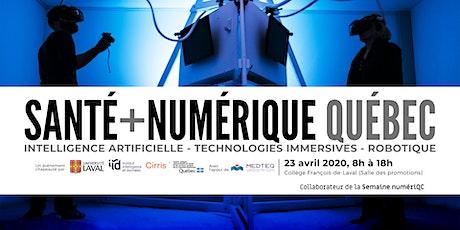Santé + Numérique Québec billets