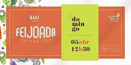 FEIJOADA ON THE TOP - 05 DE ABRIL ingressos
