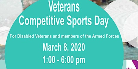 Competitve Sports Day for Disabled Veterans tickets