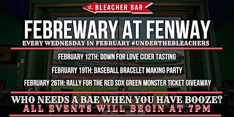 FEBREWARY SERIES: Baseball Bracelet Making Party tickets