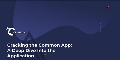 Cracking the UC & Common App: A Deep Dive into the Application (South Bay) tickets