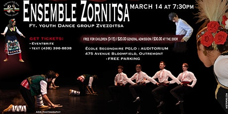 Bulgarian Folk Dance Show by Ensemble Zornitsa billets