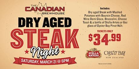 Dry Aged Steak Night at Lewis Estates tickets