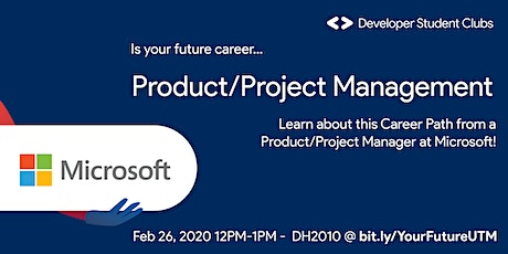 Product/Project Management at Microsoft tickets