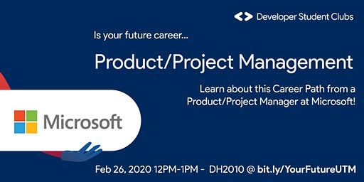 Product/Project Management at Microsoft