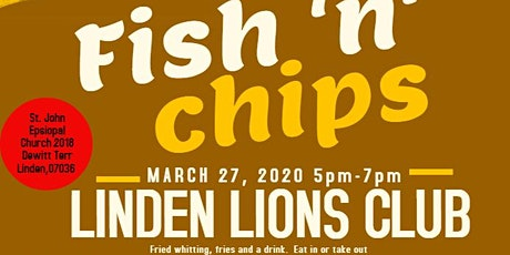 Linden Lions Annual Fish Fry tickets