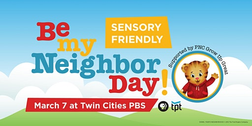 Sensory-Friendly Be My Neighbor Day with Daniel Tiger and Katerina Kittycat