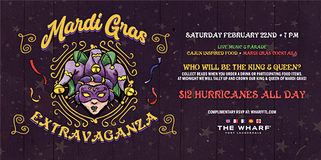 Mardi Gras Nighttime Extravaganza at The Wharf Fort Lauderdale tickets