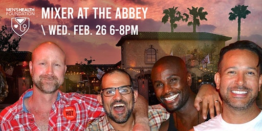 Men's Health Foundation Mixer at the Abbey