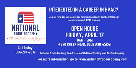 National Trade Academy - Open House tickets