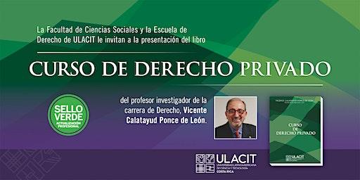 #SELLOVERDE Presentación del libro Derecho Privado