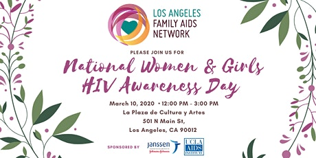 National Women & Girls HIV Awareness Day tickets