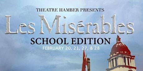 Les Misérables Musical Theatre Evening tickets