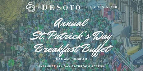 The DeSoto Savannah - Annual St Patrick's Day Breakfast tickets