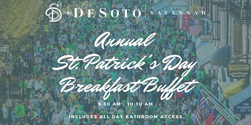 The DeSoto Savannah - Annual St Patrick's Day Breakfast