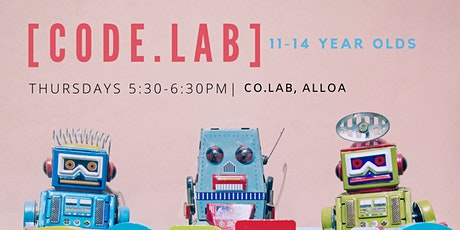 After School Code Lab for 11-14 year olds in Clackmannanshire tickets