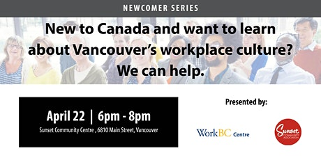 Understanding Vancouver's Workplace Culture: A Free Career Workshop tickets
