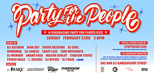 Party For The People @ SNS Bar