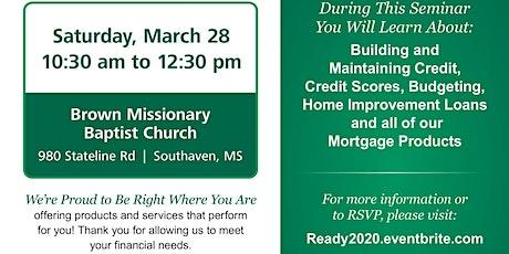 BancorpSouth Homebuyer Seminar-Brown Baptist tickets