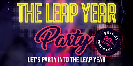 The Leap Year Party tickets