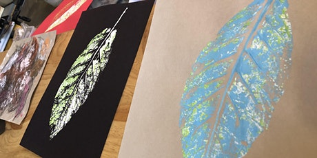 Leaf printing - Free Drop In and Create tickets