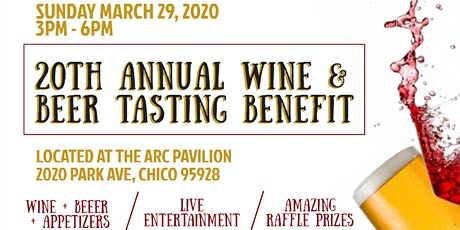 Arc's 20th Annual Wine & Beer Tasting Benefit tickets